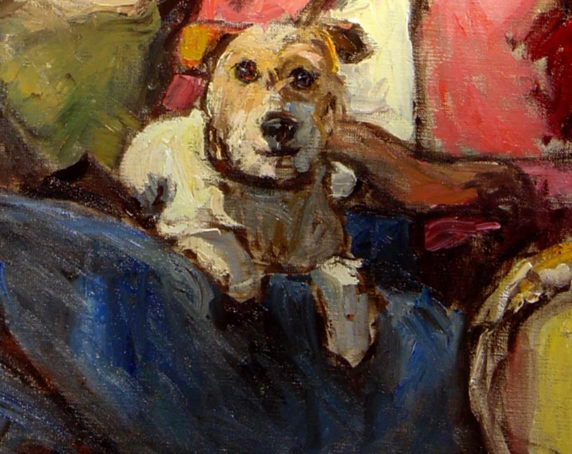 Lavinia Waldburg Hund